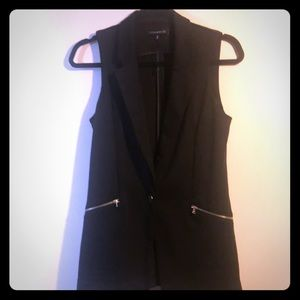Dynamite blazer vest